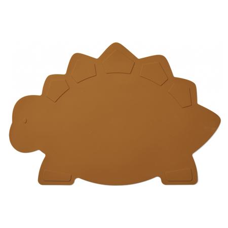 Slika Liewood® Silikonska podloga za hranjenje Tracy Placemat Dino Mustard
