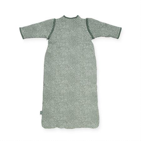 Jollein® Otroška spalna vreča s snemljivimi rokavi 110cm Snake Ash Green TOG 2.0