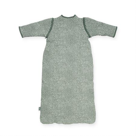 Jollein® Otroška spalna vreča s snemljivimi rokavi 70cm Snake Ash Green TOG 2.0