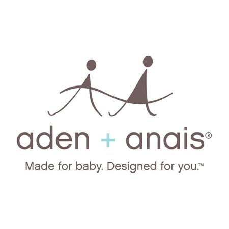 Aden+Anais® Bombažna odejica Lovely Reverie Butterflies 120x120