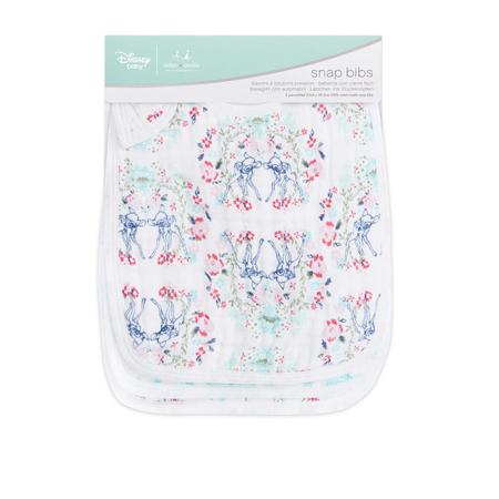 Aden+Anais® Komplet 3 bombažnih slinčkov Disney Bambi