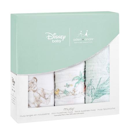Aden+Anais® Komplet 3 tetra pleničk Disney The Lion King 70x70