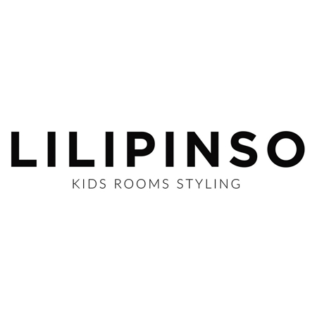 Lilipinso® Otroška preproga Half moon Blue 140x70