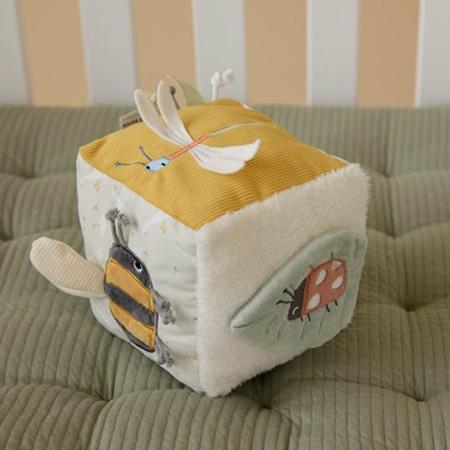 Little Dutch® Senzorična kocka Little Goose Mint
