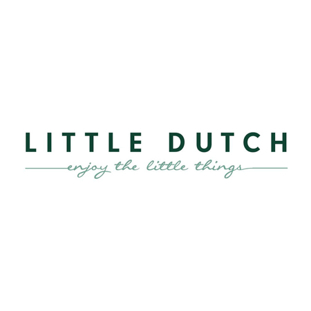 Little Dutch® Lesene kocke za gradnjo Pure & Nature