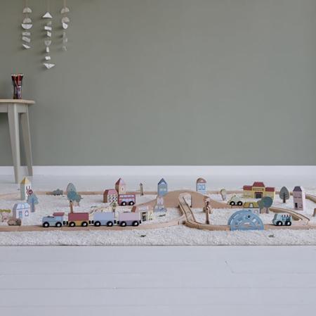 Little Dutch® Railway Train XXL Set - Starterkit