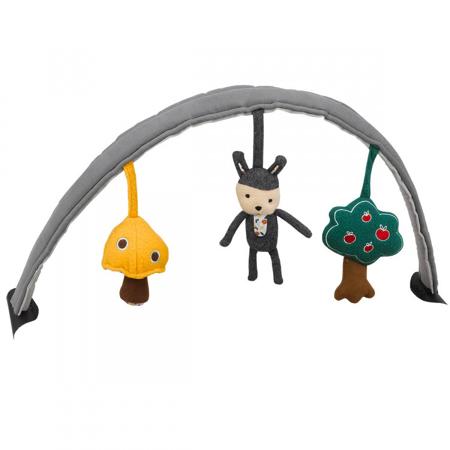 Slika Nuna® Dvostranski lok z igračkami za ležalnik Leaf™ Curv/Leaf™ Grow