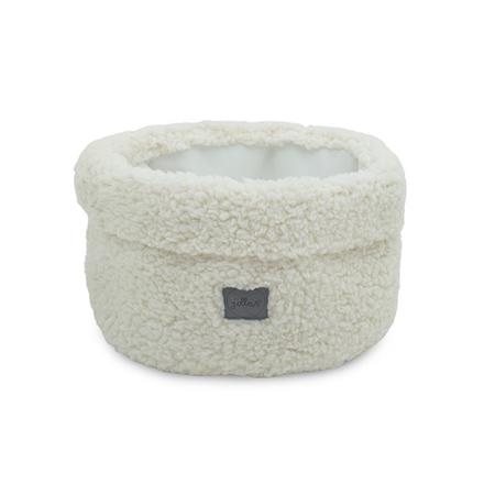 Jollein® Košara za shranjevanje Teddy Cream White