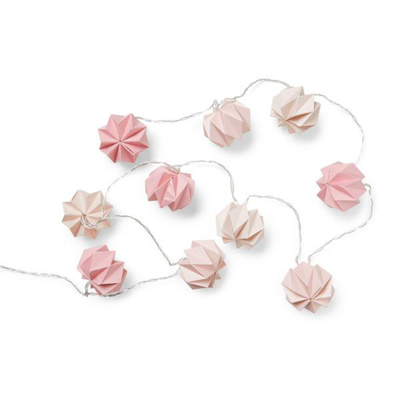 CamCam® Lučke LED Origami Mix Rose