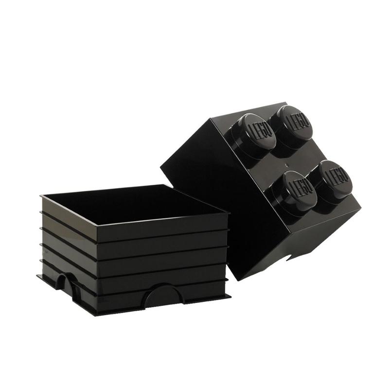 Lego® Škatla za shranjevanje 4 Black