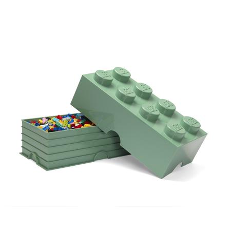 Slika Lego® Škatla za shranjevanje 8 Sand Green