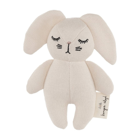 Slika Konges Sløjd® Igračka z ropotuljico Mini Rabbit Off White