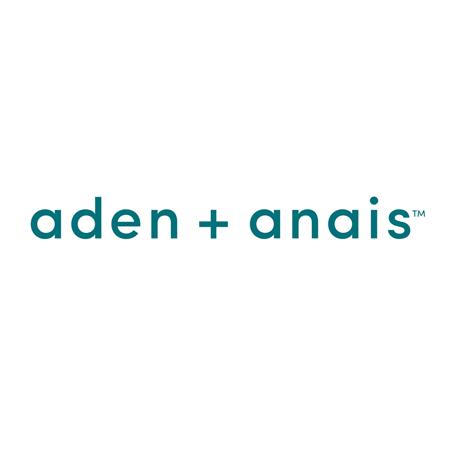 Aden+Anais® Svilnato mehka odejica Snuggle Knit Rosettes