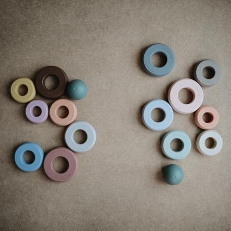 Mushie® Obročki za zlaganje Original