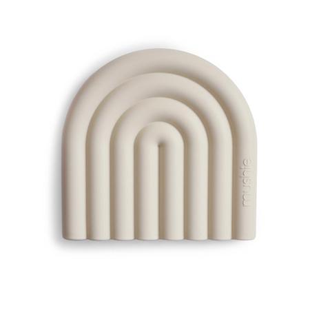 Slika Mushie® Grizalo mavrica Shifting Sand