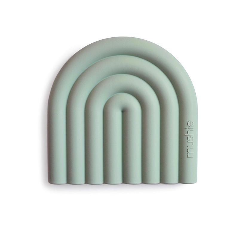 Mushie® Grizalo mavrica Cambridge Blue