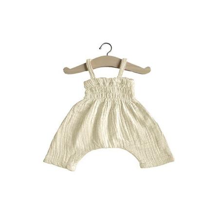 Slika Minikane® Obleka za punčke Ecru 34cm