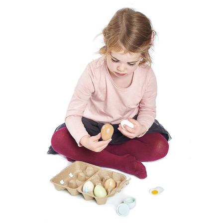 Tender Leaf Toys® Lesena jajca Wooden Eggs