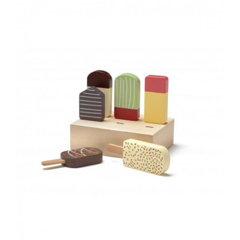 Kids Concept® Lesene sladoledne lizike BISTRO