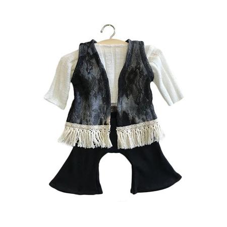 Slika Minikane® Obleka za punčke Gina Black set 34cm