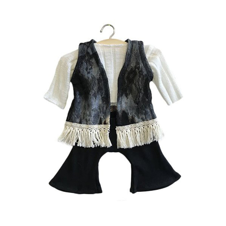 Minikane® Obleka za punčke Gina Black set 34cm