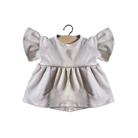Slika Minikane® Obleka za punčke Milleraies Ecru 34cm
