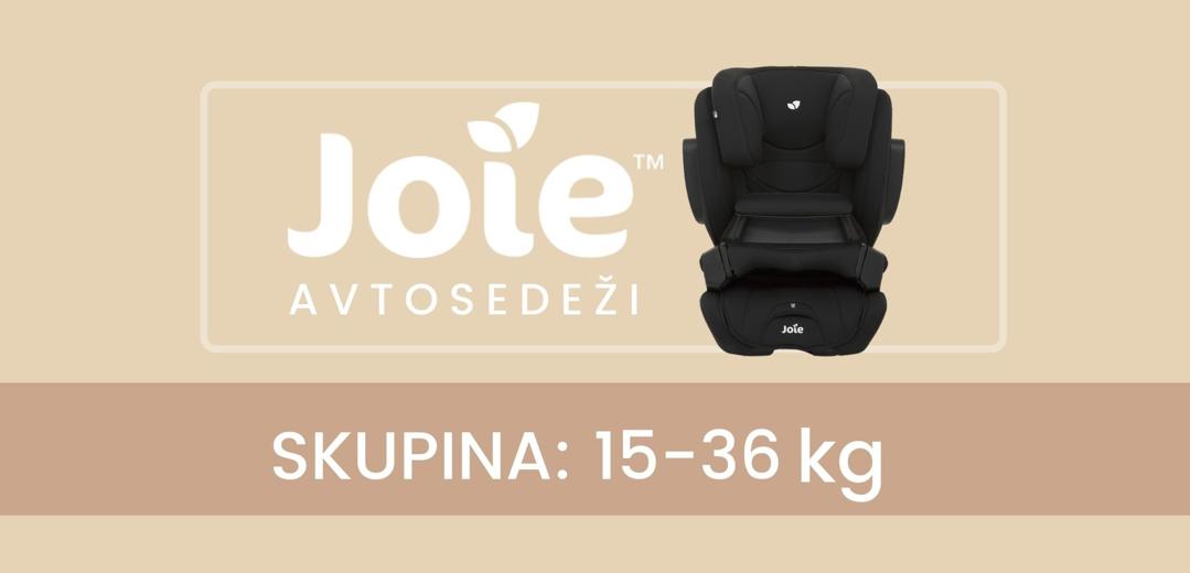 Razlike med modeli avtosedežev Joie, skupina (15-36 kg)