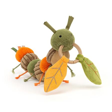 Slika Jellycat® Aktivnostna plišasta igračka Christopher Caterpillar 12x23