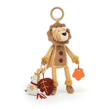 Slika Jellycat® Aktivnostna plišasta igračka Cordy Lion 28x9