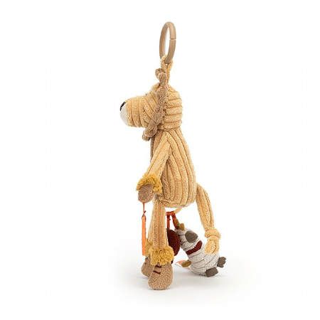 Jellycat® Aktivnostna plišasta igračka Cordy Lion 28x9