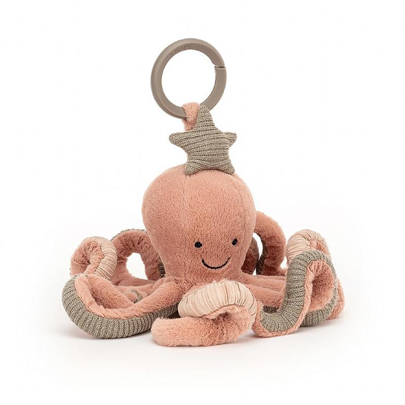 Jellycat® Aktivnostna plišasta igračka Odell Octopus 10x20