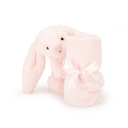 Slika Jellycat® Ninica Bashful Pink Bunny 34cm