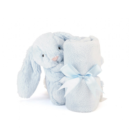 Jellycat® Ninica Bashful Blue Bunny 34cm