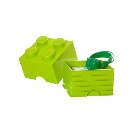 Slika Lego® Škatla za shranjevanje 4 Bright Yellow Green
