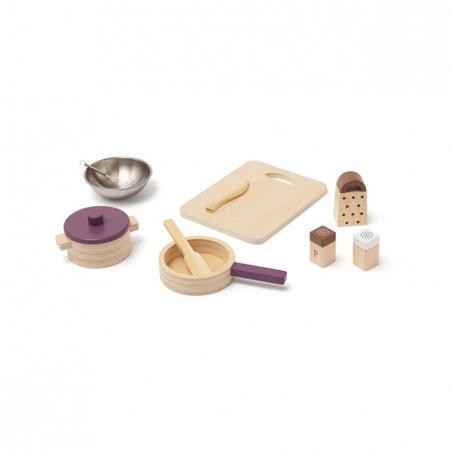 Slika Kids Concept® Leseni kuhinjski pripomočki Bistro