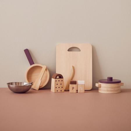Kids Concept® Leseni kuhinjski pripomočki Bistro