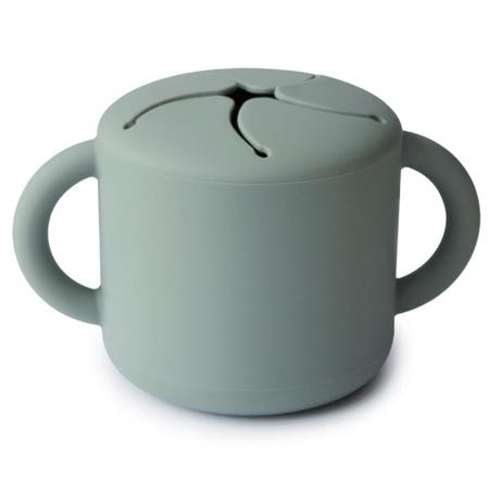 Slika Mushie® Silikonska posodica za prigrizke Cambridge Blue