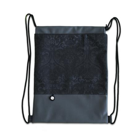 Ksenka® Ročno izdelan nahrbtnik Rustic - Black