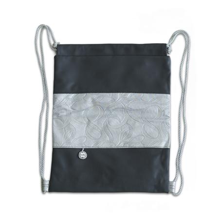 Ksenka® Ročno izdelan nahrbtnik Rustic - Silver