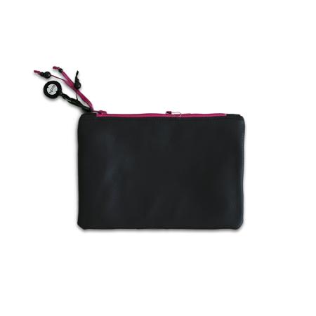 Ksenka® Ročno izdelana toaletna trobica Black & Pink