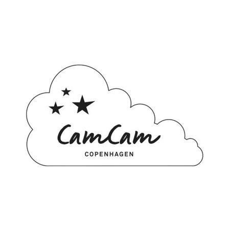 CamCam® Bombažni slinček Caramel Leaves