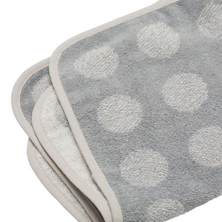 Leander® Bombažna brisača Cool Grey 65x45