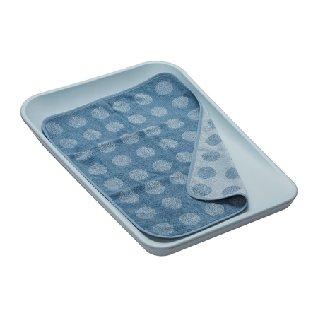Leander® Bombažna brisača Dusty Blue 65x45