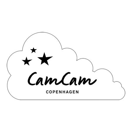CamCam® Brisača s kapuco in ušesi GOTS Dusty Green 80x80