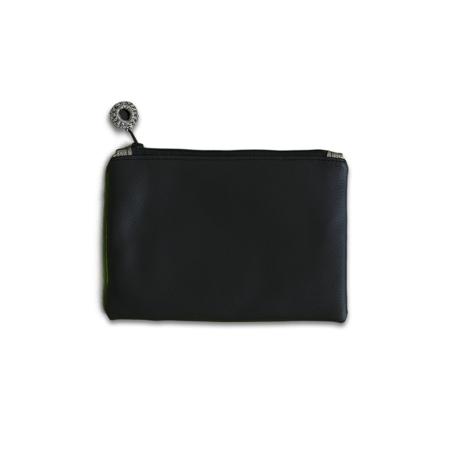 Ksenka® Ročno izdelana toaletna torbica Black & Copper