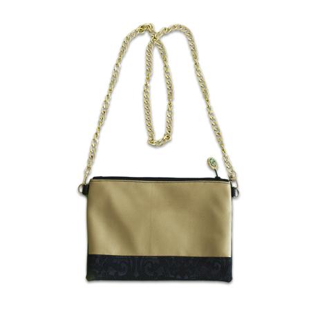 Ksenka® Ročno izdelana torbica Black & Gold