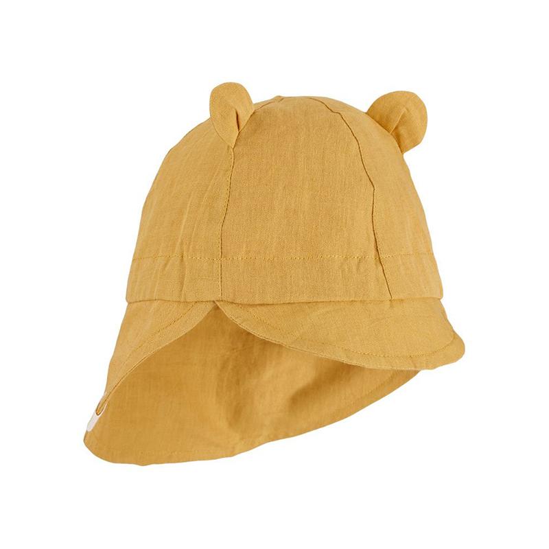 Liewood® Eric Klobuček z UV zaščito Yellow Mellow