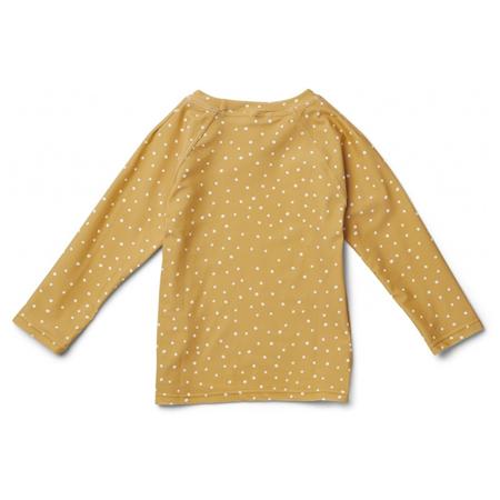 Liewood® Majica z UV zaščito Noah Confetti Yellow Mellow