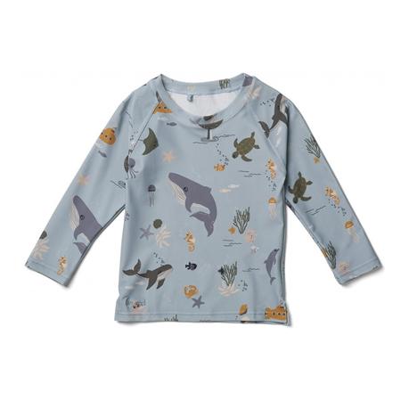Slika Liewood® Majica z UV zaščito Noah Sea Creature Mix