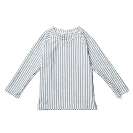 Slika Liewood® Majica z UV zaščito Noah Stripe Sea Blue/White
